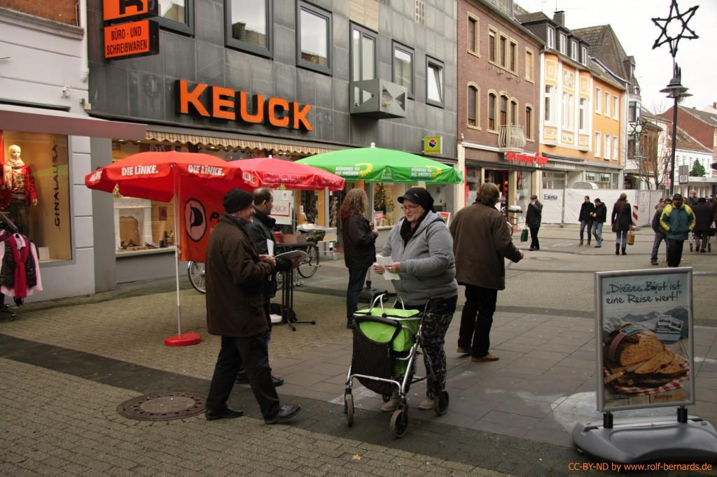 Infostand Geldern 28.11.2014-1