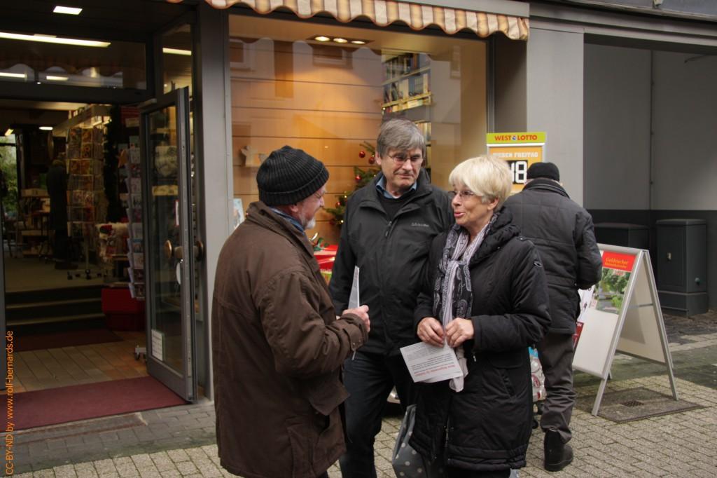 Infostand Geldern 28.11.2014-11