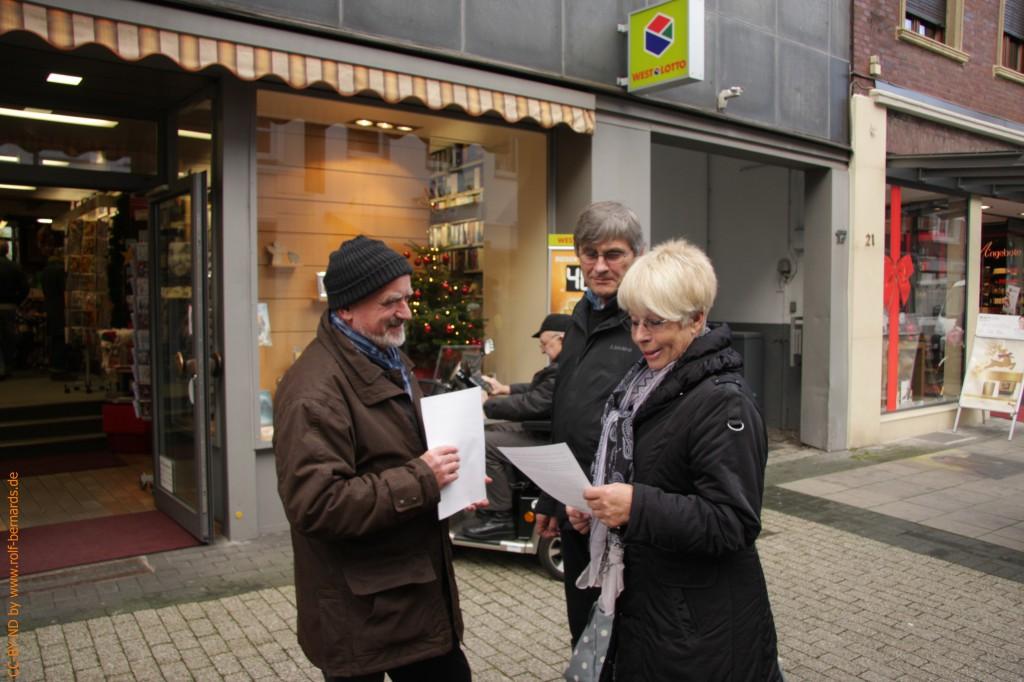 Infostand Geldern 28.11.2014-12