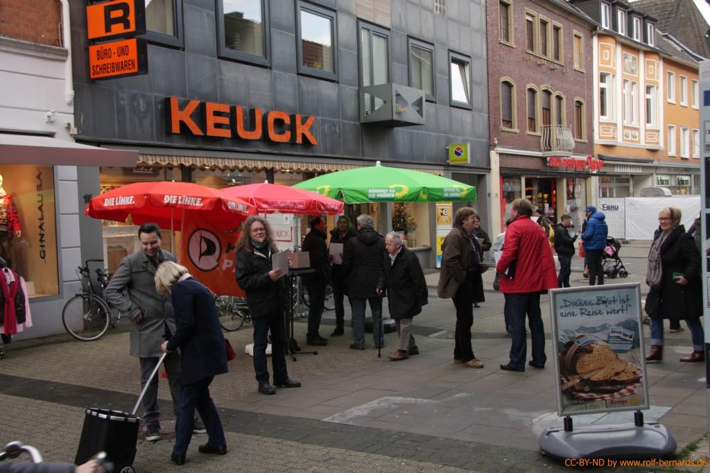 Infostand Geldern 28.11.2014-13