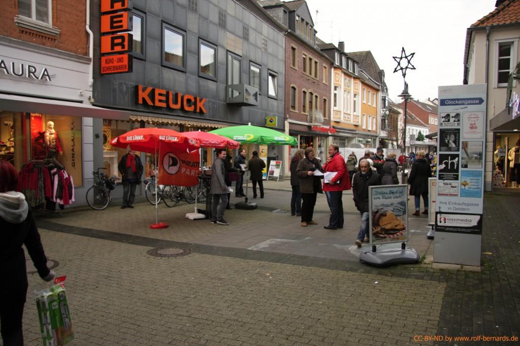 Infostand Geldern 28.11.2014-16