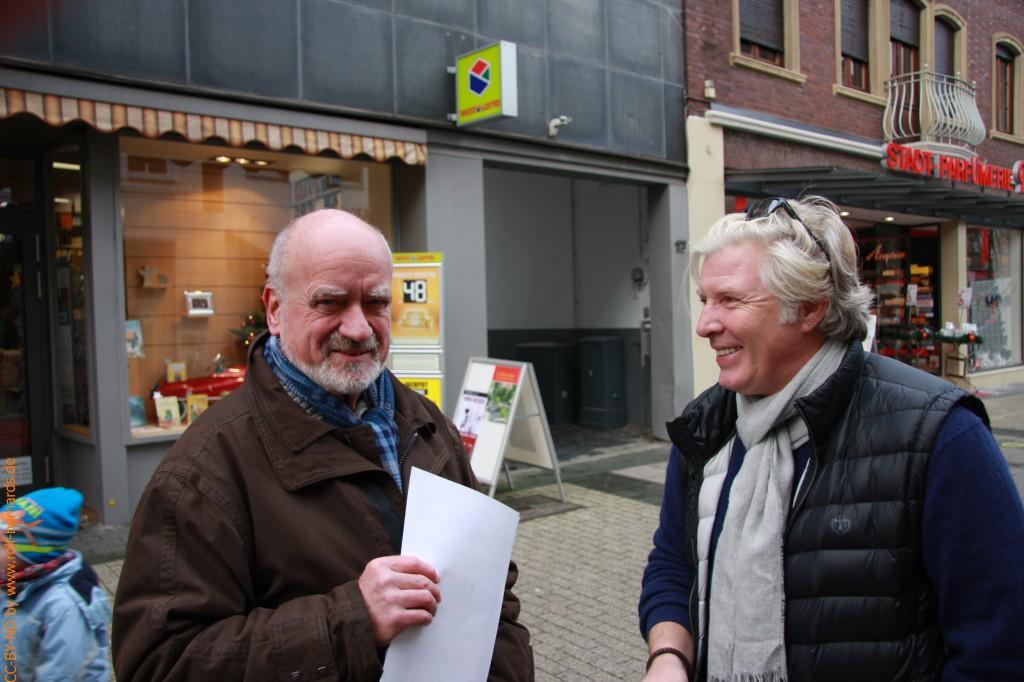 Infostand Geldern 28.11.2014-2