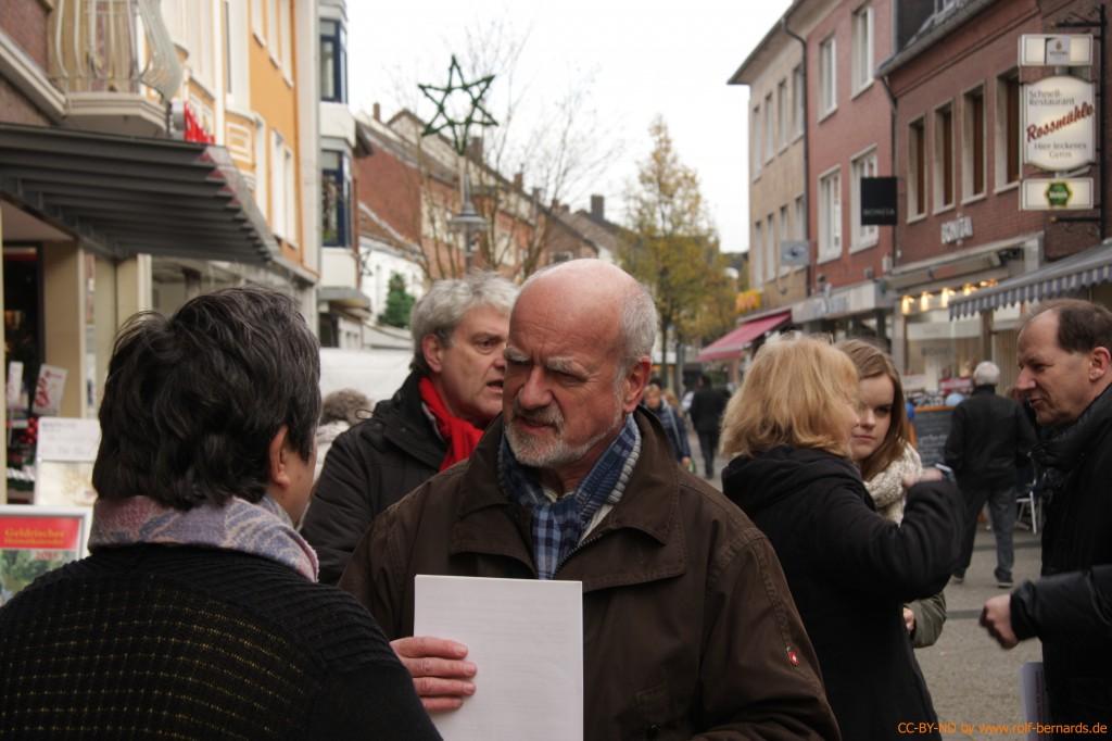 Infostand Geldern 28.11.2014-7